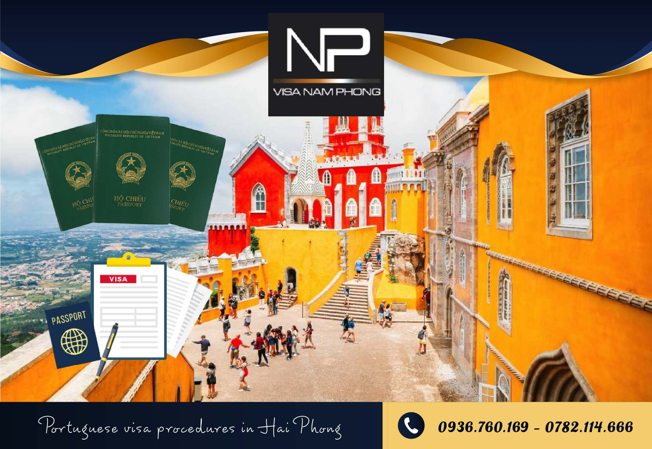 Portuguese visa procedures in Hai Phong