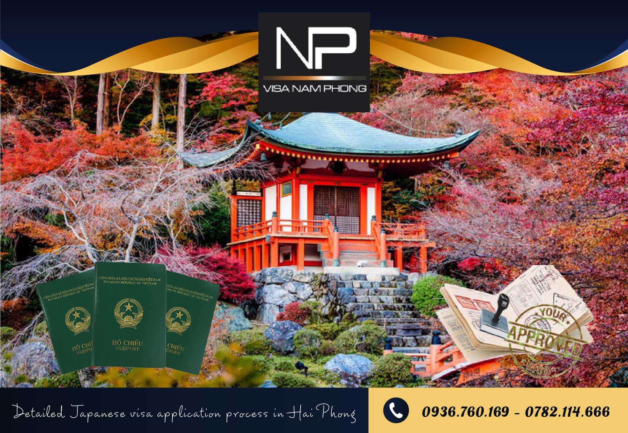 Detailed Japanese visa application process in Hai Phong